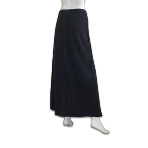 PHILOSOPHY Di Alberta Ferretti 90s grey wool long skirt with reverse seam