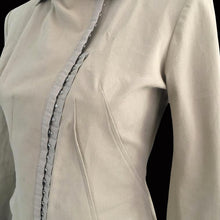 Load image into Gallery viewer, PLEIN SUD 90s Beige assymetric jacket