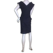 Load image into Gallery viewer, VIVIENNE WESTWOOD 90s Stripes dark blue dress