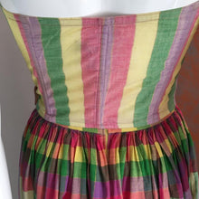 Load image into Gallery viewer, CHANTAL THOMASS 80s bustier+ skirt with 2 matching ribbons