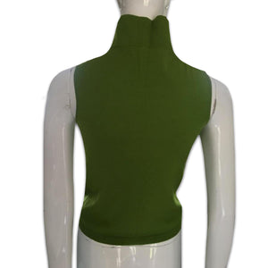 DKNY SS1996 Apple green turtleneck