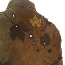 Load image into Gallery viewer, PRADA FW1999 Leather leaf jacket