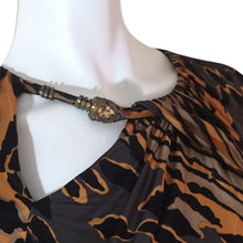 Load image into Gallery viewer, ROBERTO CAVALLI Fall 2011 Leopard dress
