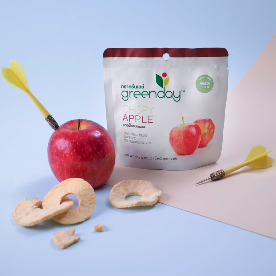 Apple (Single Serve) Crispy Fruits Greenday Singapore