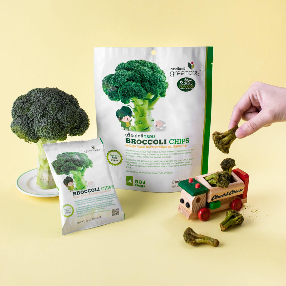 Broccoli (Greenday Kids) Crispy Vegetables Greenday Singapore