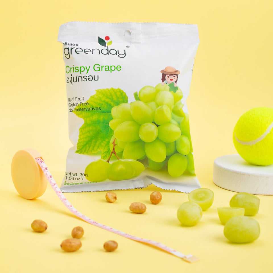 Grape (Sharing Pack) Crispy Fruits Greenday Singapore