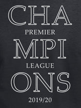 Load image into Gallery viewer, Premier League Champions 2019/20 LFC T Shirt available in white/red/black