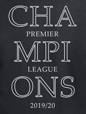 Premier League Champions 2019/20 LFC T Shirt available in white/red/black