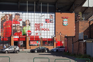 Mural at the Kop End-Teestreet