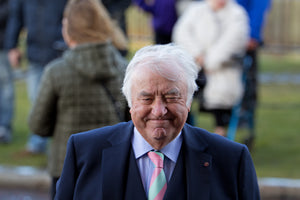 Jimmy Tarbuck at the funeral service for Ken Dodd at Liverpool Cathedral-Teestreet