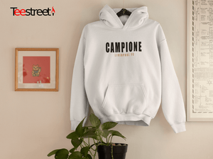 Campiones Liverpool FC Unisex Hoodies available in Black/White
