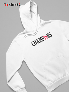 Champ19ns LFC Unisex Hoodie in white