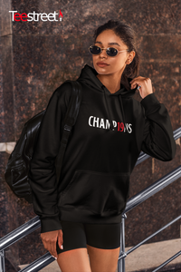 Champ19ns LFC Unisex Hoodie in black