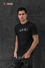 Load image into Gallery viewer, LFC Halftone Dots with eternal flame T Shirts
