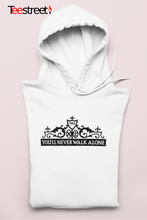 Load image into Gallery viewer, LFC Shankly Gates Unisex Hoodie in white