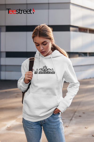 LFC Shankly Gates Unisex Hoodie in white