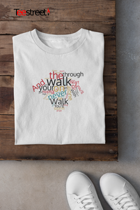 YNWA Lyrics LFC T SHIRT