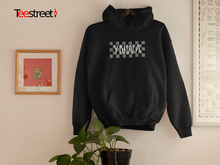 Load image into Gallery viewer, YNWA on squares LFC Unisex Hoodies available in Black/White