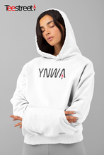 Load image into Gallery viewer, YNWA LFC Unisex Hoodie in white