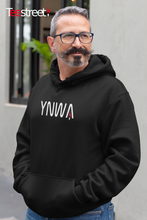 Load image into Gallery viewer, YNWA LFC Unisex Hoodie in black