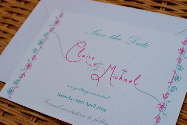 Personalised Save the Date Cards