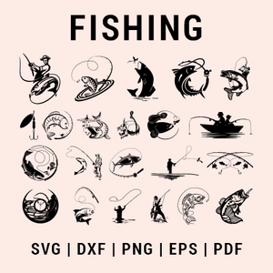 Fishing svg