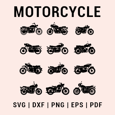 Motorcycle svg