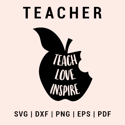 Teacher svg