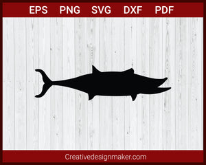 Shark svg, Shark Hunting SVG Cricut Silhouette DXF PNG EPS Cut File