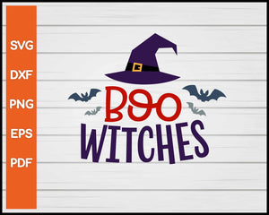 Boo Witches! Halloween svg