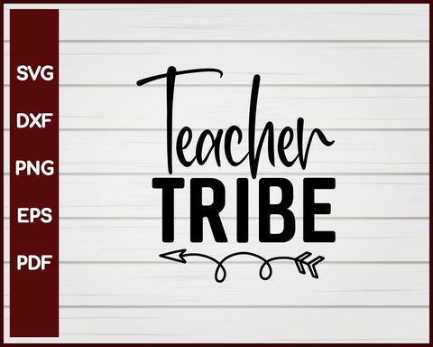Teacher Tribe School svg