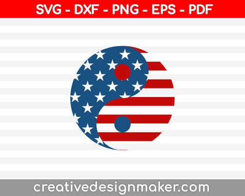 4th Of July SVG PNG Cutting Printable Files