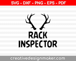 Rack Inspector SVG PNG Cutting Printable Files