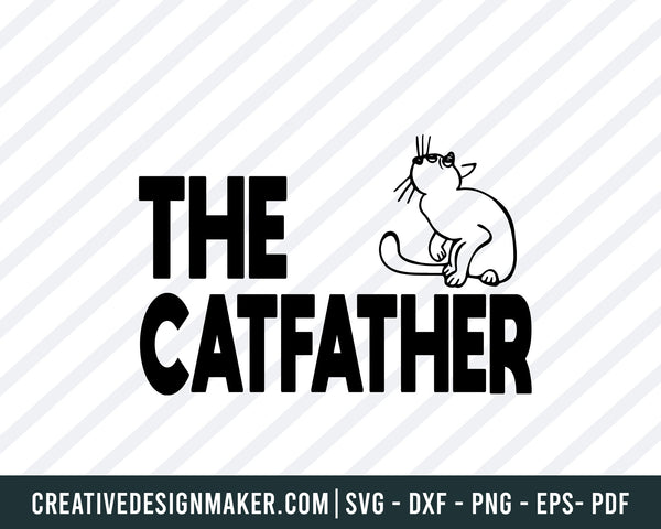 Cat Lover SVG, Cat Lover Shirt, Cat Dad, Cat Mom, PNG, DXF, Cat Vector, Digital Clipart, Files Design, Printing, Cutting, Birthday Cut File, Cat Svg Dxf Png Eps Pdf Printable Files