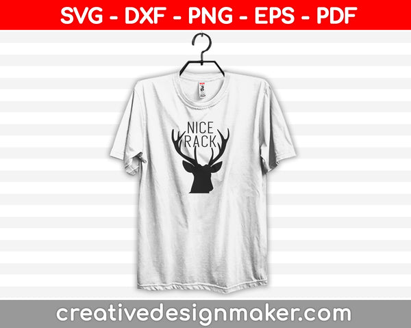Nice Rack SVG PNG Cutting Printable Files