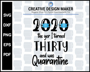 The One Where We Were 2020 Quarantine svg For Cricut Silhouette And eps png Printable Artworks