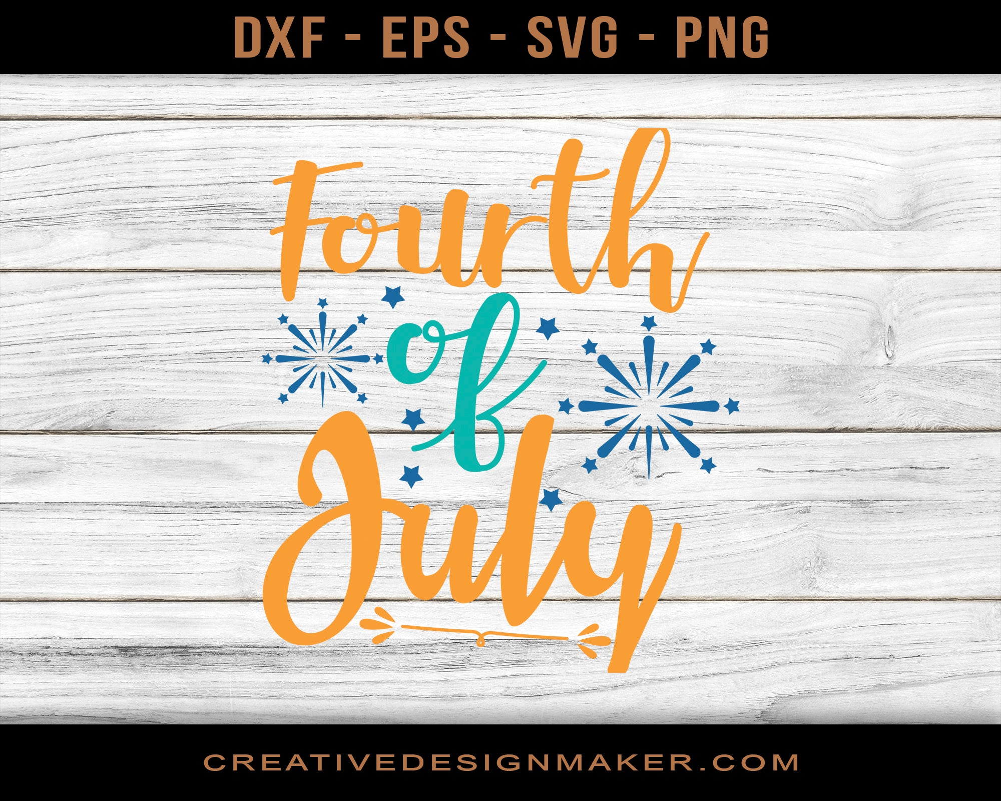 Fourth of July Adventure Svg Dxf Png Eps Printable Files!