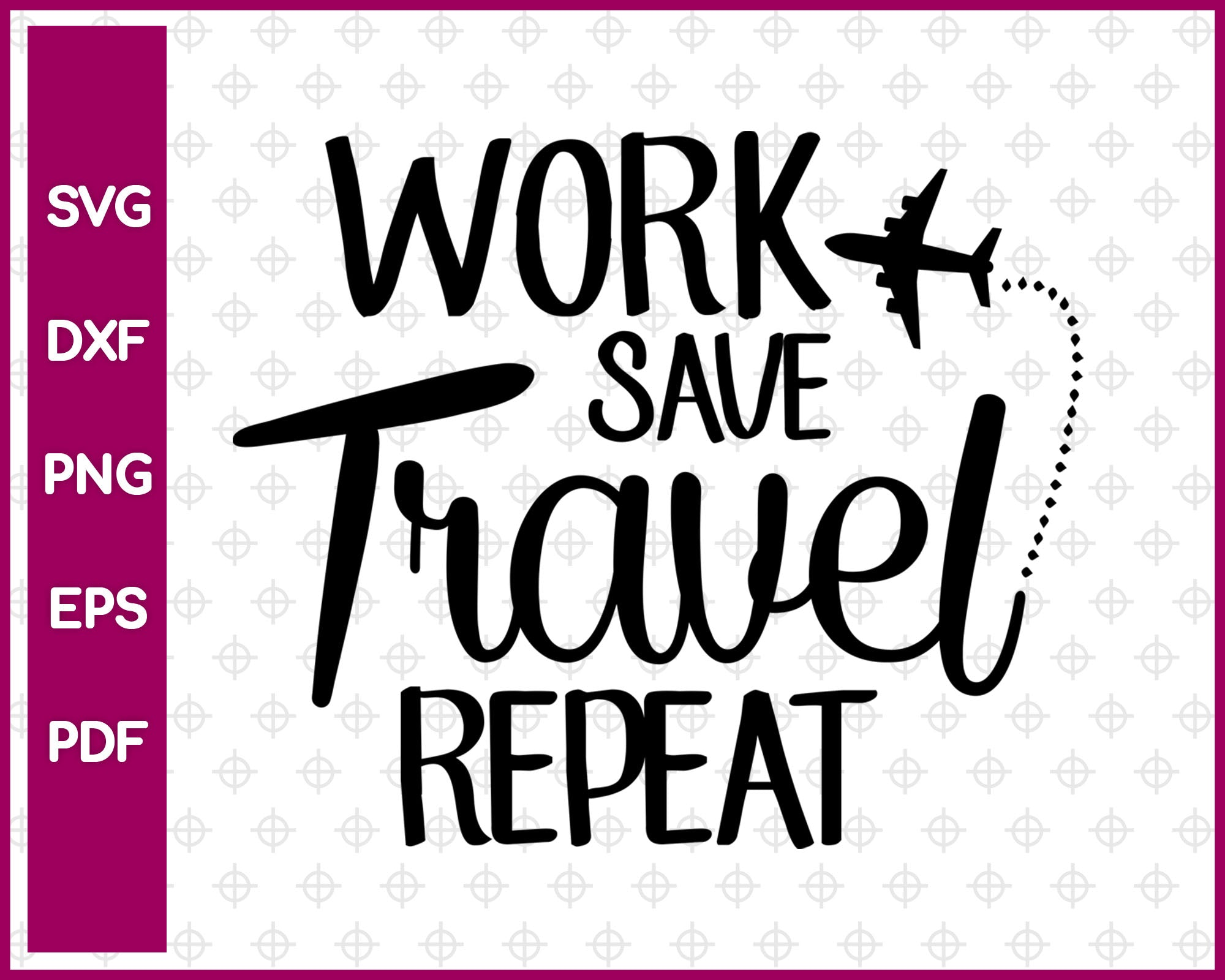 Travel Svg Design, Travel Svg, Travel Svg Dxf Png Eps Pdf Printable Files