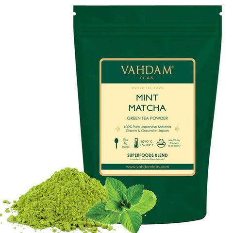 VAHDAM, Mint Matcha Green Tea