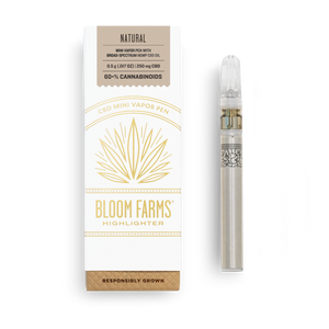 Bloom Farms Disposable Vape | Natural 250mg - Broad Spectrum CBD