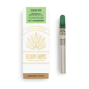 Bloom Farms Disposable Vape | Sequoia Mint 250mg - Broad Spectrum CBD
