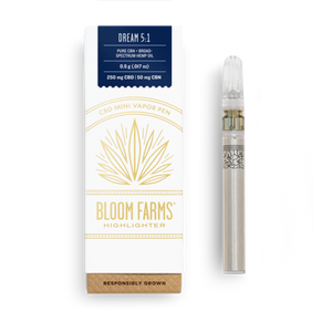 Bloom Farms Disposable Vape | Dream 5:1 CBN - Broad Spectrum CBD