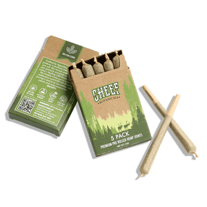 Cheef Botanicals CBD Pre Rolls | Northern Lights 5 Pack - 7g Indoor