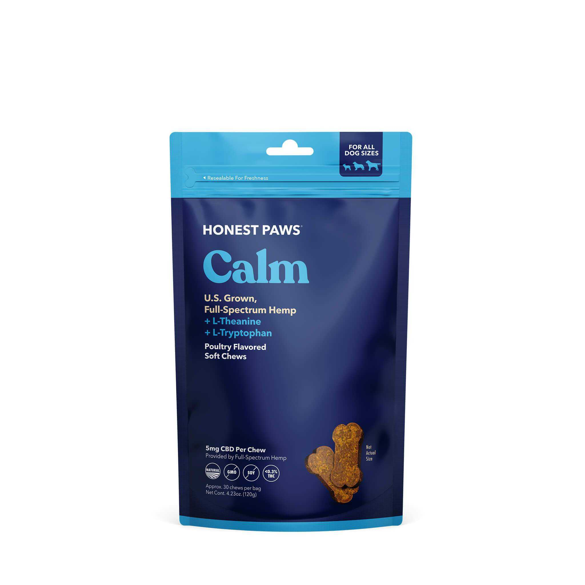 Honest Paws Chews | Calm Blend - Full Spectrum