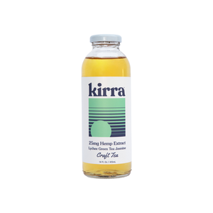 Kirra Drinks | Lychee Green Tea Jasmin 25mg - Nano Broad Spectrum CBD