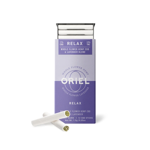 Omura x Oriel | Lavender CBD sticks - Whole Flower