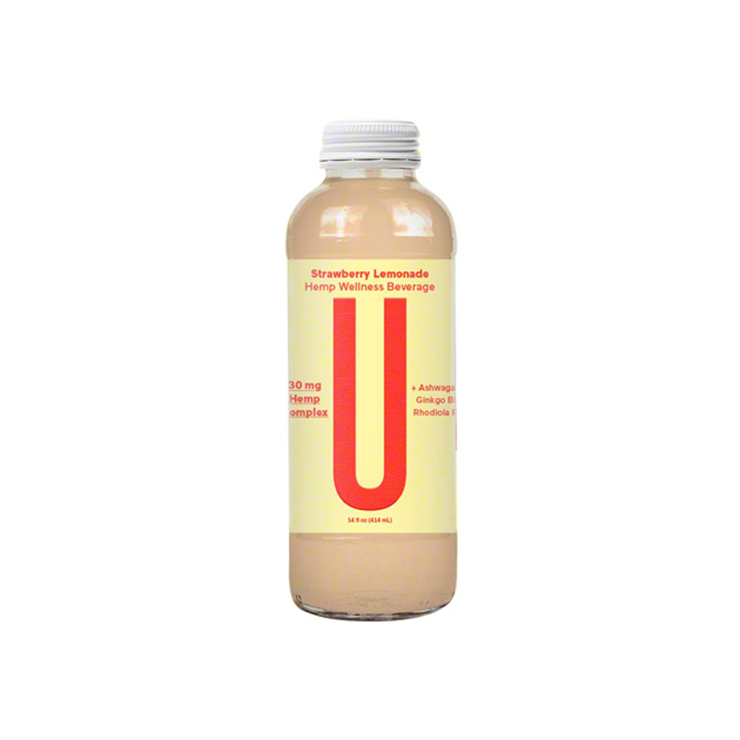 Unity Wellness Drinks | Strawberry Lemonade 30mg - Full Spectrum CBD