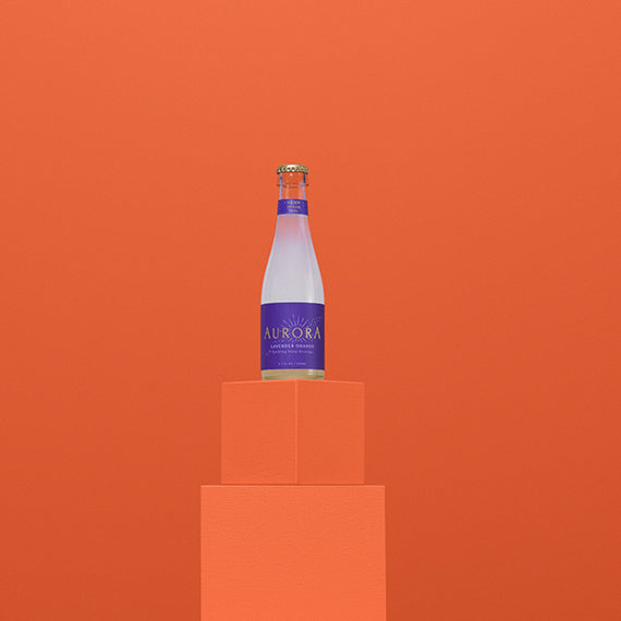 Aurora Drinks | Lavender Orange 25mg - Full Spectrum CBD
