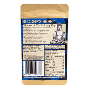 The Brothers Apothecary Tea | Buddha's Berry - 60mg Full Spectrum CBD