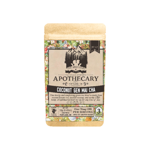 The Brothers Apothecary Tea Bags | Coconut Genmaicha - 60mg Full Spectrum CBD